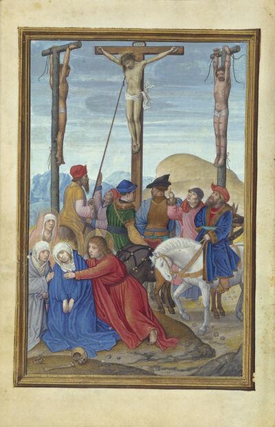 Simon Bening, 'The Piercing of Christ's Side', 1525-1530