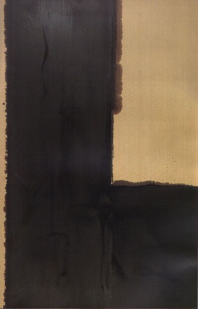 Yun Hyong-keun, 'Burnt Umber', 1991