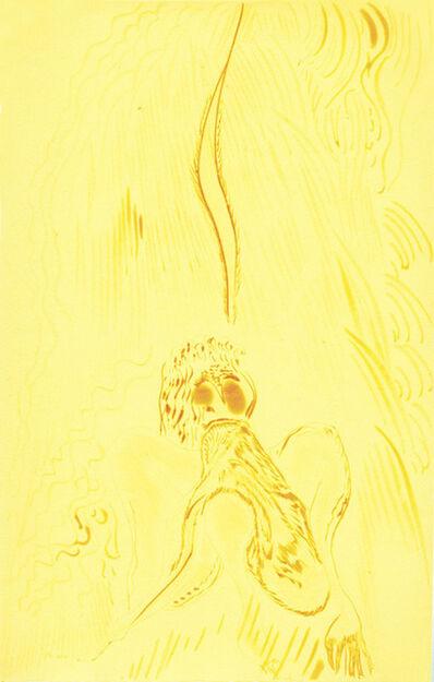 Chris Ofili, 'Rainbow-Yellow Day Dreamer', 2008