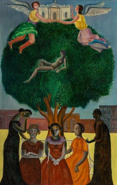 Rodolfo Morales, 'Untitled (Mujeres en el Parque)', 1970