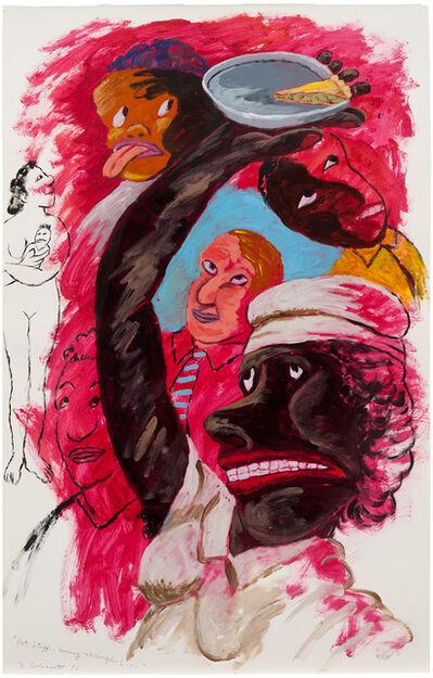 Robert Colescott, 'Hot Stuff-Coming Through!', 1991