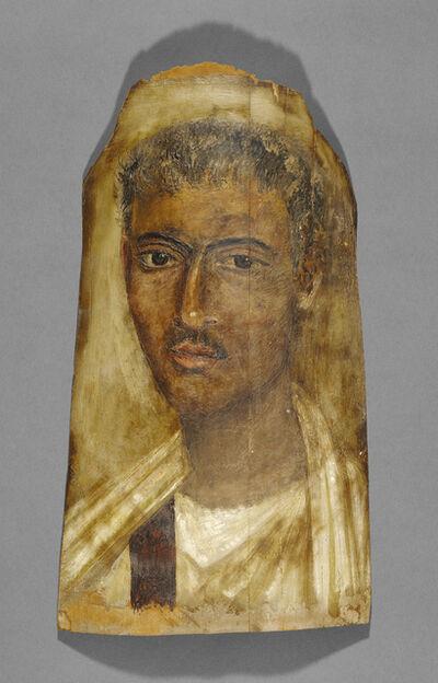 'Mummy Portrait of a Man', 100 - 125