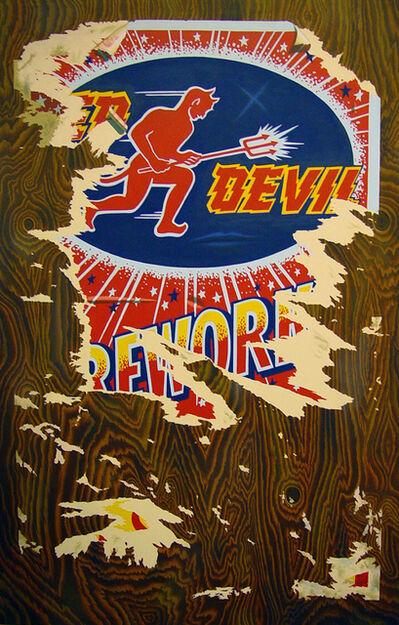 James Torlakson, 'Torn Poster', 1990
