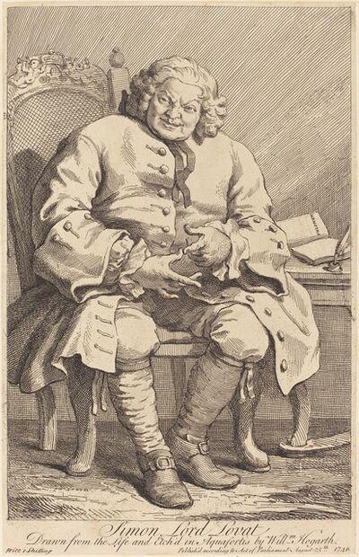 William Hogarth, 'Simon Lord Lovat', 1746