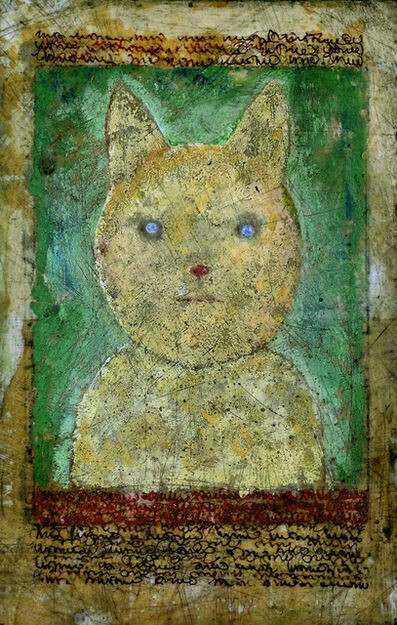 Larry Calkins, 'cat', 2019
