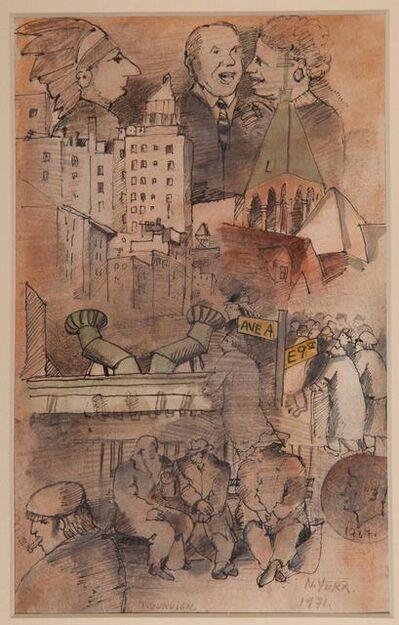 José Gurvich, 'City Skape', 1971