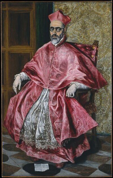 El Greco, 'Cardinal Fernando Niño de Guevara (1541–1609)', ca. 1600