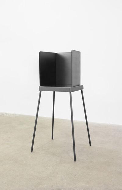 Adam McEwen, 'Voting Booth', 2017