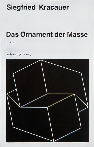 Peter Zimmermann, '#00558 Ornament der Masse', 2004