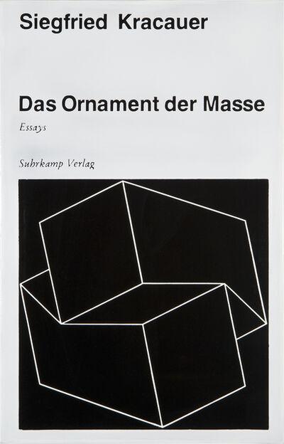 Peter Zimmermann, '#00558 Ornament der Masse', 2004