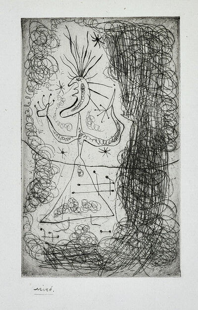 Joan Miró, 'Untitled, from Fraternity', 1939