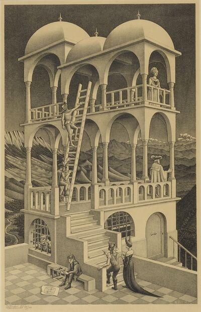 Maurits Cornelis Escher, 'Belvedere (B./K./L./W. 426)', 1958