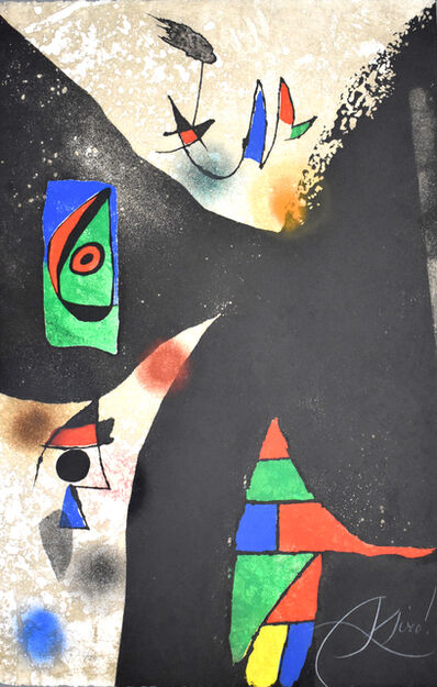 Joan Miró, 'Composition II, from: Gaudí', 1979