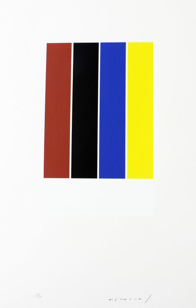 Aurelie Nemours, 'Primaire ', 1978-1993