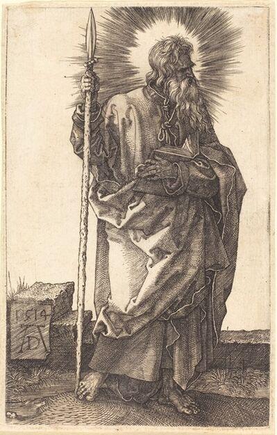 Albrecht Dürer, 'Saint Thomas', 1514