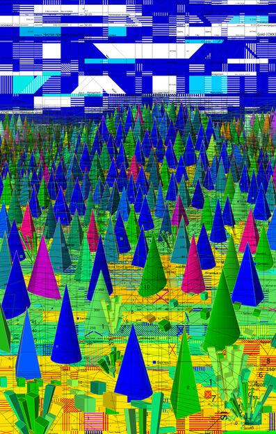 Oleksiy Sai, 'Data Mountains', 2012