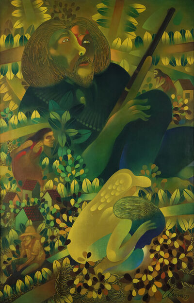 Pedro Pablo Oliva, 'The Hero and his Dreams', 1973