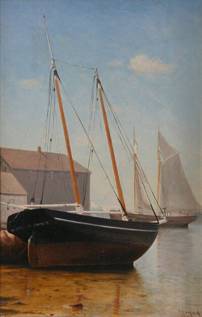 Charles Henry Gifford, 'Sea Witch, Quincy', 1873