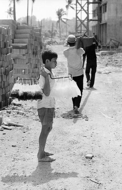 Loke Hong Seng, 'Poor Child, Peddling Cold Drinks Under the Hot Sun', 1970