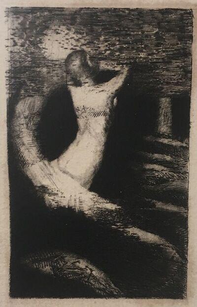 Odilon Redon, 'Passage d'une âme. (Frontispice pour A. Remacle, La Passante, Paris, Bibliothèque artistique et littéraire, 1892)', 1891