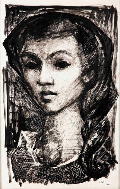 Mario Tozzi, 'Visage de femme', 1930