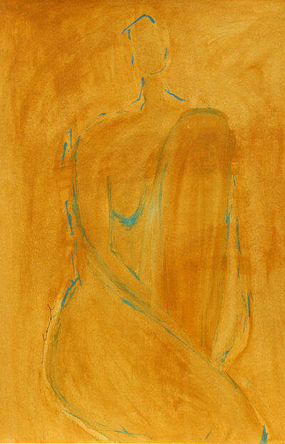 Laura Dargan, 'Lady In Ochre', 2019