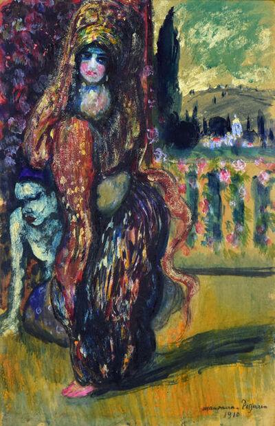 Georges Manzana-Pissarro, 'L'orientale debout', ca. 1910