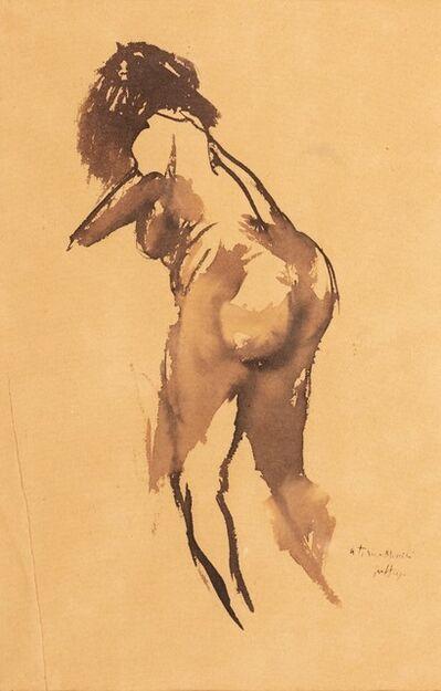 Renato Guttuso, 'Titina portrait'