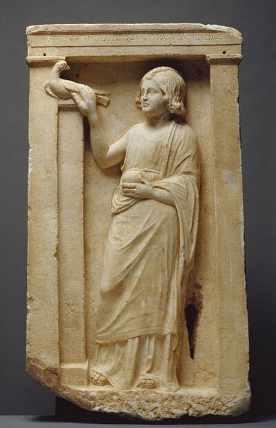 'Grave Naiskos of Apollonia', ca. 100 BCE