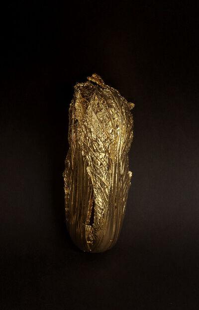 Shi Jinsong 史金淞, 'A Quick Change ─ A Quick Change ─ Gold Cabbage  No.6  《金蝉脱壳·金百财》六号', 2015
