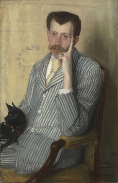 Jacques-Émile Blanche, 'Portrait of George Porto-Riche', 1889