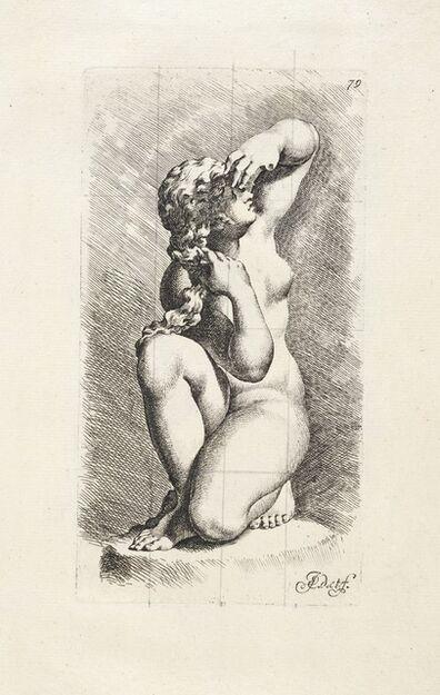 Jan de Bisschop, '[Crouching Aphrodite (?)]', 1731-1741
