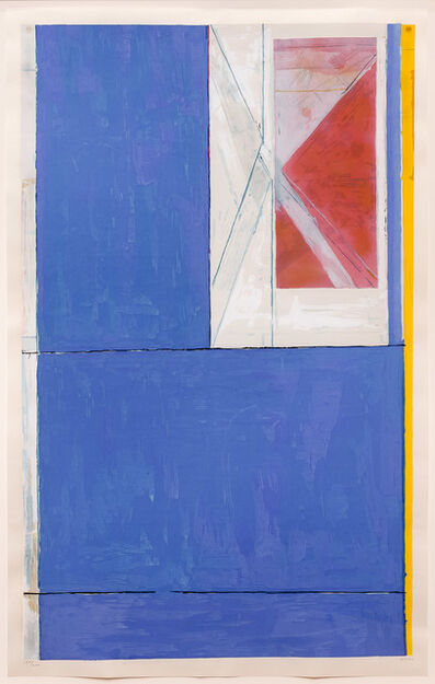 Richard Diebenkorn, 'Blue', 1984