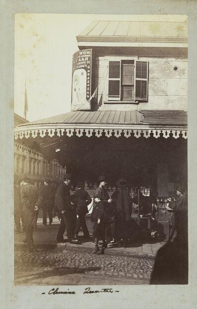 Carleton E. Watkins, 'Chinese Quarter', 1880-1885
