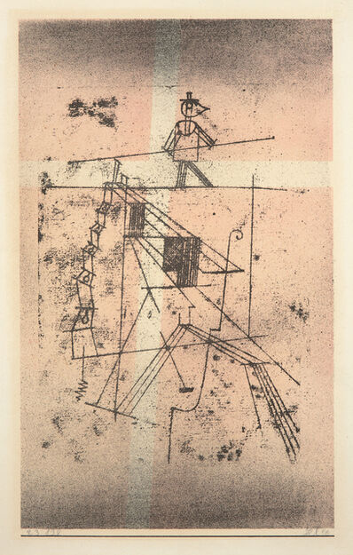 Paul Klee, 'Seiltänzer (Tightrope Walker)', 1923