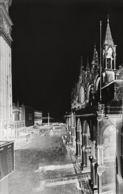 Vera Lutter, 'Piazza Leonie, Venice XIII: November 19, 2005', 2005