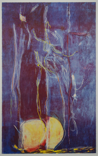 Helen Frankenthaler, 'All About Blue', 1994