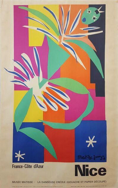Henri Matisse, 'Côte d'Azur (La Danseuse Créole)', 1965