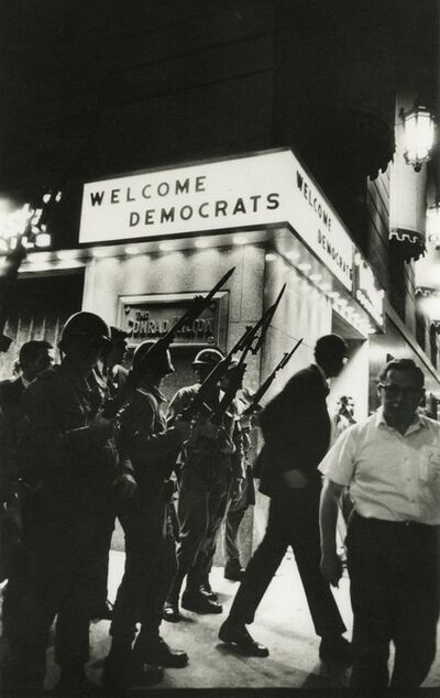 Art Shay, 'Welcome Democrats', 1968