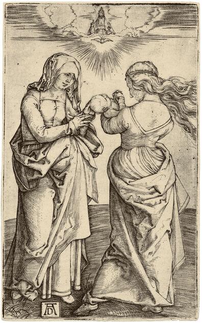 Albrecht Dürer, 'The Virgin Mary with the Infant Christ and Saint Anne', ca. 1500