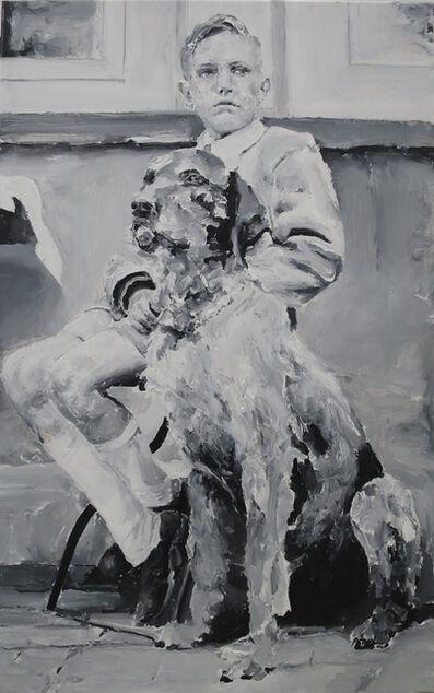 Santiago Ydañez, 'Niño y perro', 2015