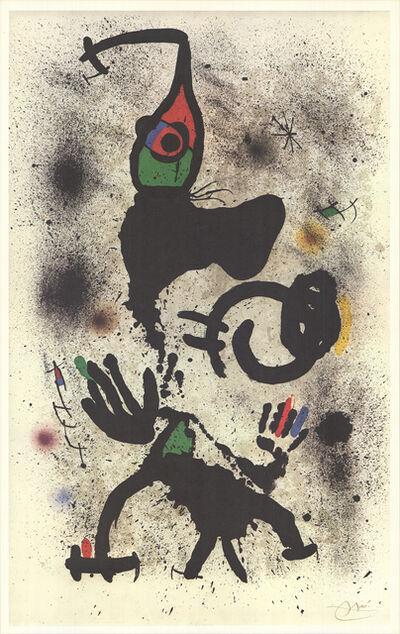 Joan Miró, 'Traversing', 1979