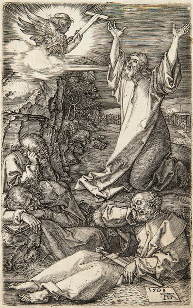 Albrecht Dürer, 'Christ on the Mount of Olives, 1508, from The Engraved Passion', 1508-13