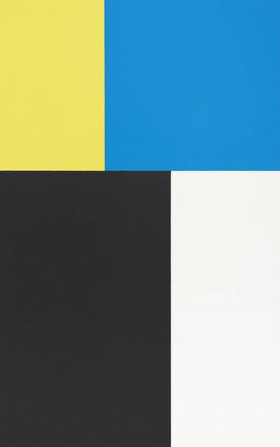 Steven Aalders, 'Phi Painting (Blue, Yellow)', 2015