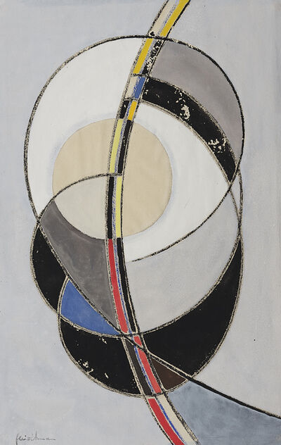 Adolf Fleischmann, 'Composition elliptique'