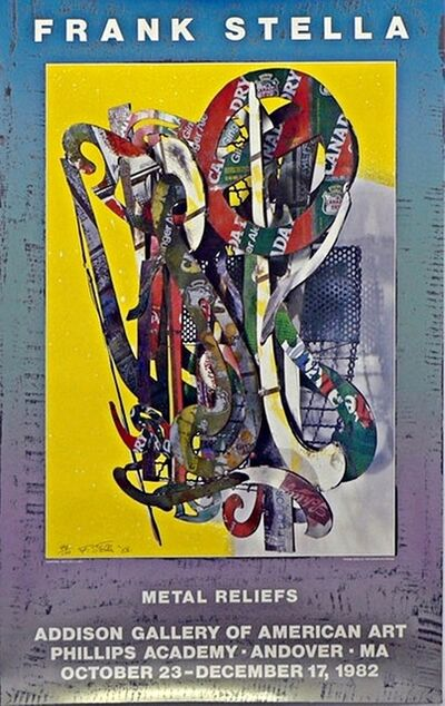 Frank Stella, 'METAL RELIEFS PHILLIPS ANDOVER ACADEMY  (Signed & Numbered)', 1982