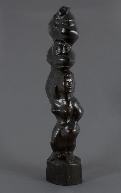 Chaim Gross, 'Acrobats Balancing', 1953