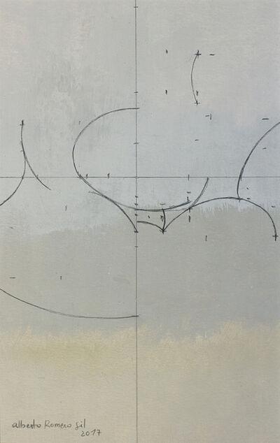 Alberto Romero, 'Geometría de huevos blancos21 x 13', 2017