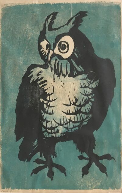 Doris Dickason, 'Owl I', Late 20th c.