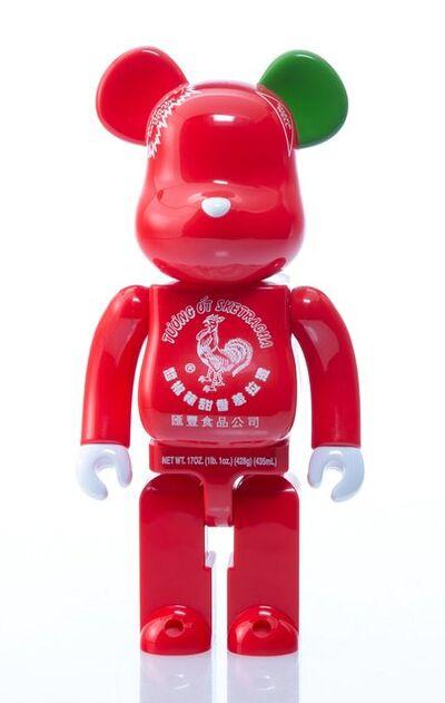 BE@RBRICK, 'Sriracha 400% and 100% (two works)', 2015